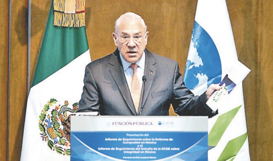 México debe combatir la corrupción: OCDE