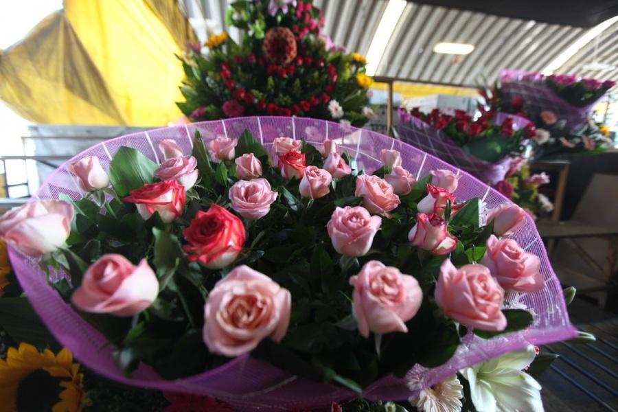 Para este 14 de Febrero la oferta floral en la CDMX es de al menos 800 toneladas