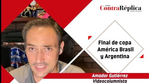 Final de copa America brasil y argentina