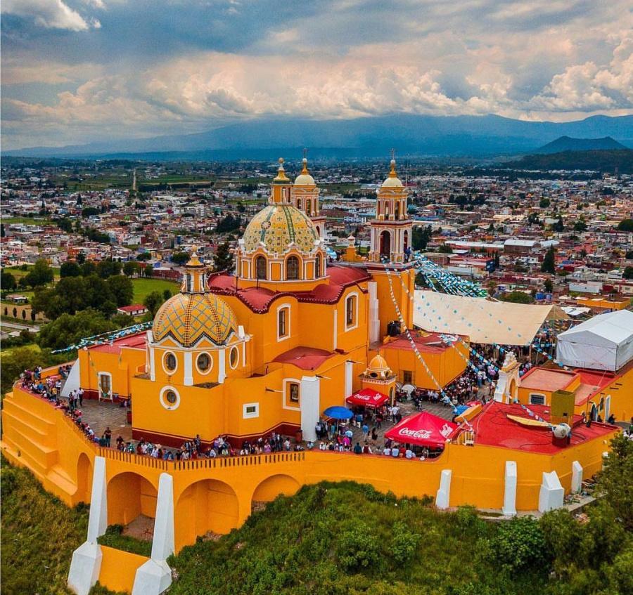 Acércate al Pueblo Mágico con mayor cantidad de iglesias y parroquias: Cholula, Puebla