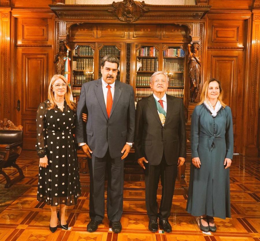 Nicolás Maduro agradece muestras de cariño de México