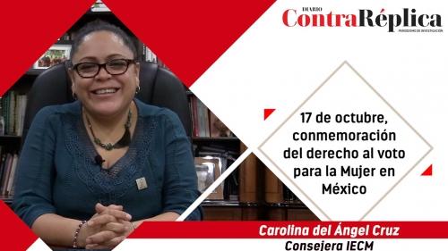 17 de octubre conmemoracioacuten del derecho al voto para la Mujer en Meacutexico