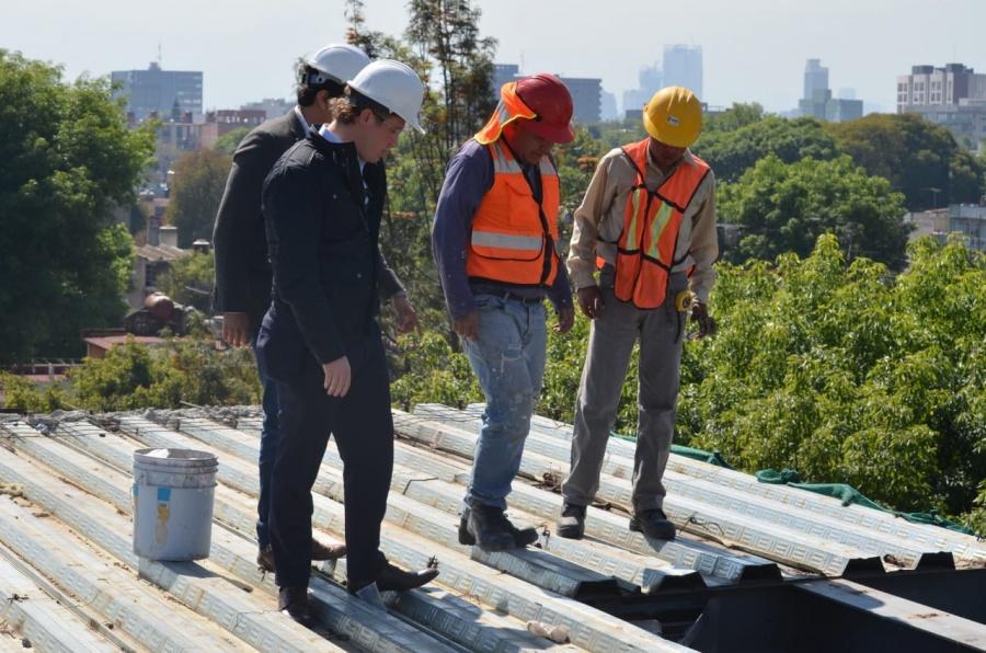 El alcalde Santiago Taboada, no permitirá que no se respete el Reglamento de Construcciones en la Benito Juárez