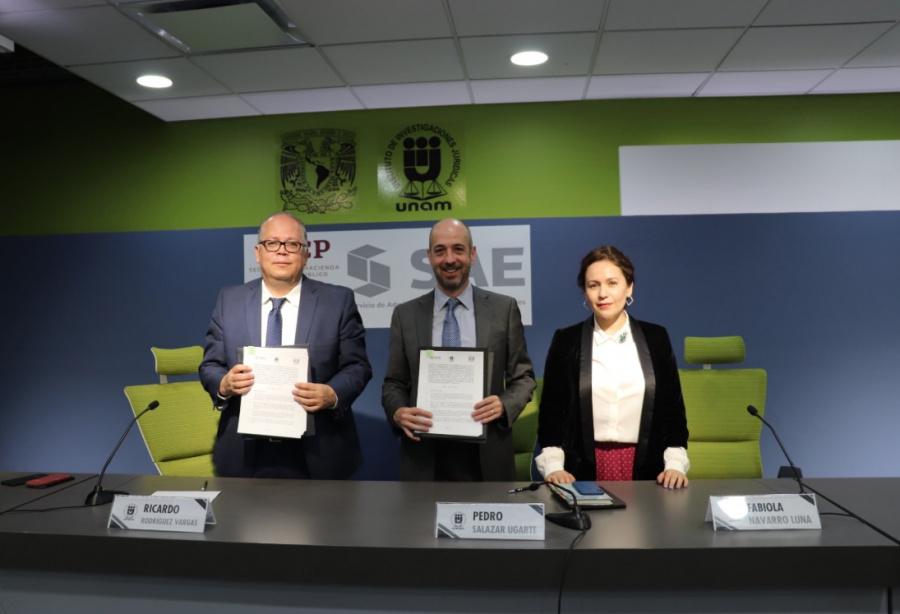 Firman UNAM y Gobierno Federal primer convenio contra la corrupción