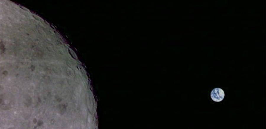 Un satélite toma fotos inéditas del lado obscuro de la Luna