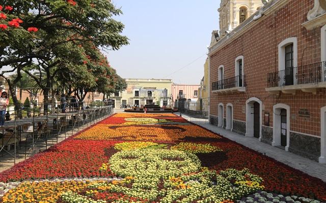 """Pueblo Mágico Atlixco """"La ciudad de las flores"""", en Puebla"""
