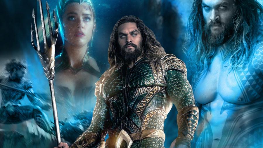 Presentan nuevos pósters oficiales de Aquaman