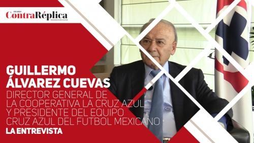 Entrevista a Guillermo Aacutelvarez Cuevas director general de La Cooperativa La Cruz Azul