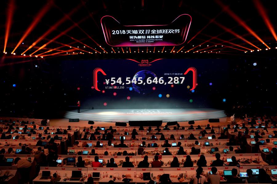 Alibaba rompe récord de ventas por Internet en el Día del Soltero
