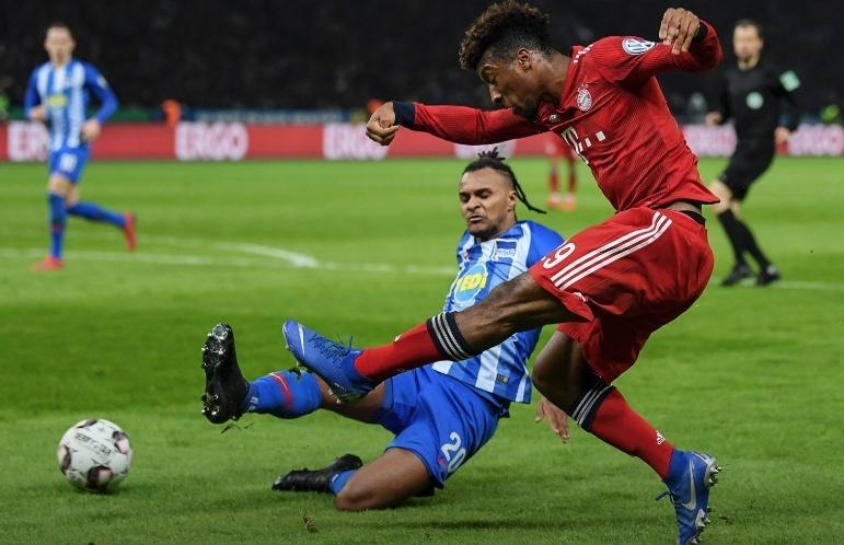 Bayern cumple el pronóstico y elimina al Hertha Berlín en la Copa de Alemania