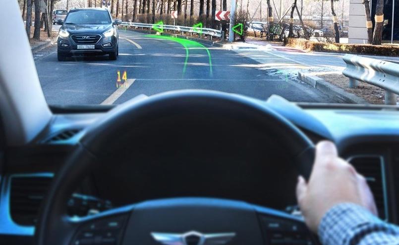 Hyundai presenta sistema de realidad aumentada para vehículos