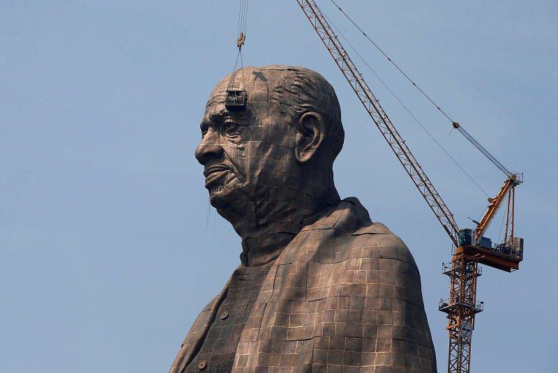 Construyen la estatua más grande del mundo