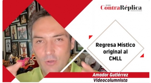 Regresa Miacutestico original al CMLL