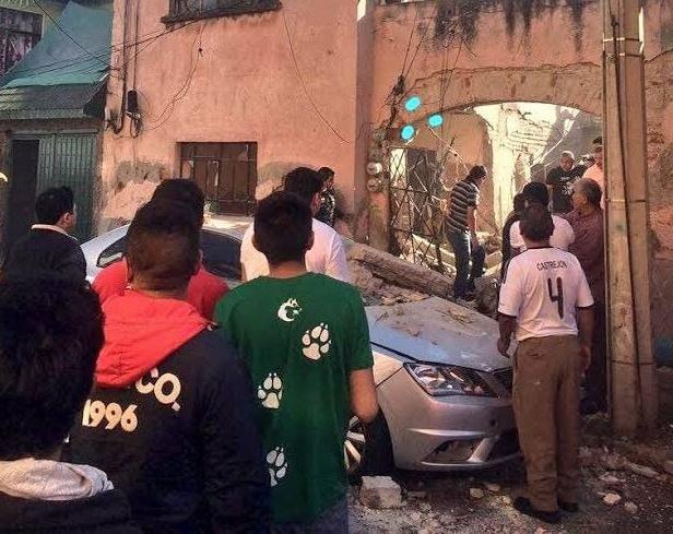 Explosión en edificio de la GAM deja al menos un muerto