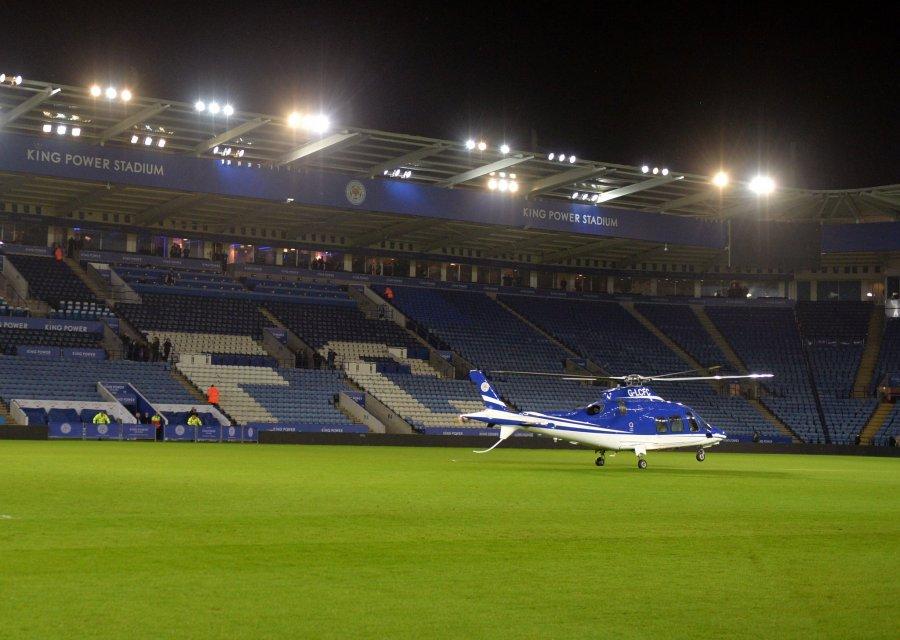 Se estrella el helicóptero del presidente del club de fútbol Leicester City