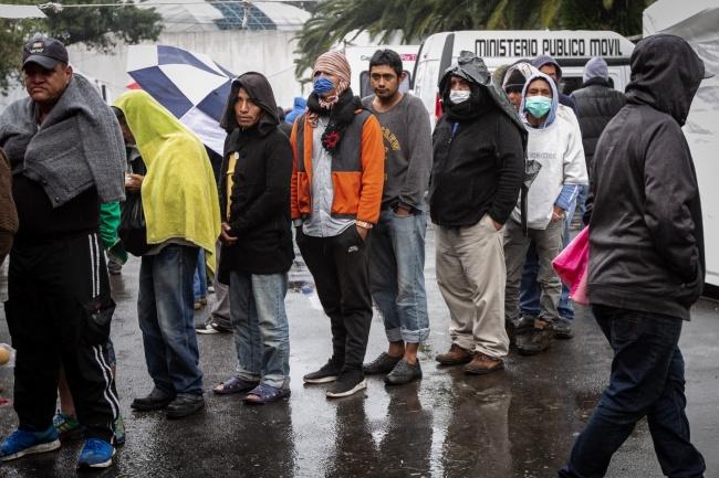 Migrantes centroamericanos llegan enfermos a la CDMX