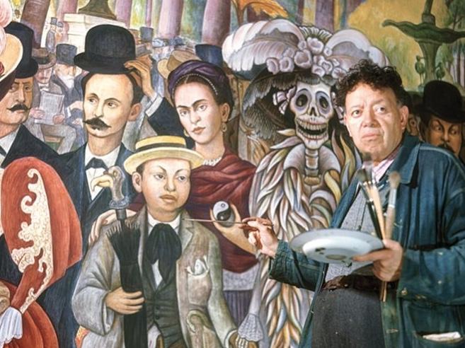 Sueño de una tarde dominical en la Alameda Central, un mural que cuenta su propia historia