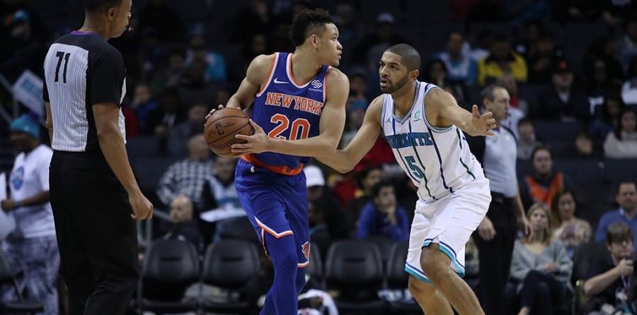 Con Emannuel Mudiay en plan estelar, los Knicks derrotan a Hornets