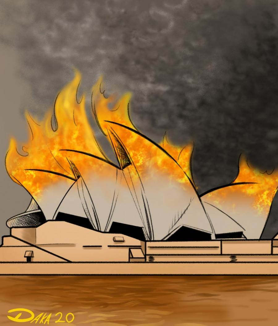 Australia en llamas