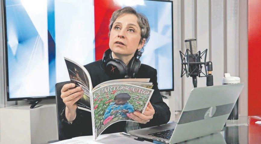 Celebran políticos, artistas… regreso de Aristegui a la radio