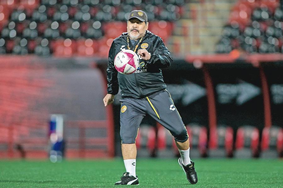 Maradona, ausente en partido de jornada 3