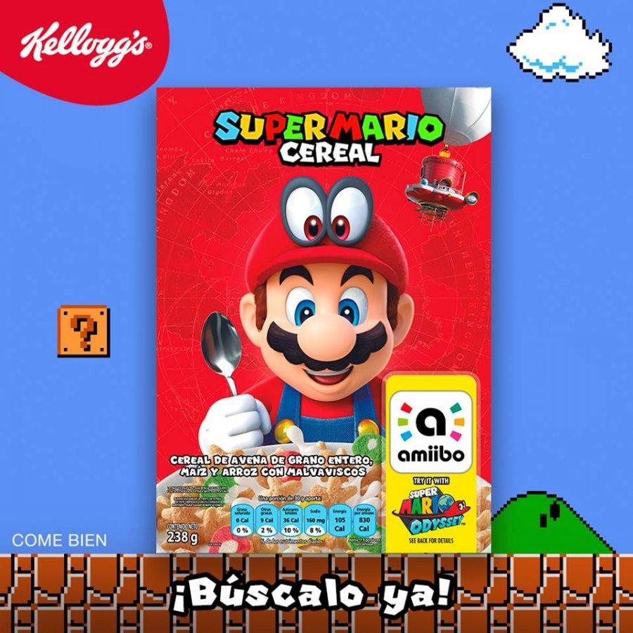 ¡Ya es oficial! El cereal de Mario Bros llega a México