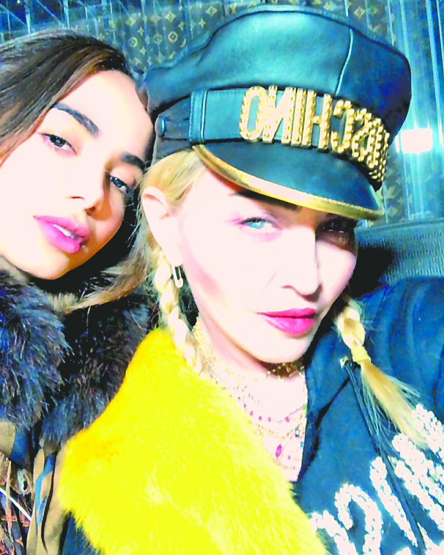 La Reina del pop le entra al reggaeton