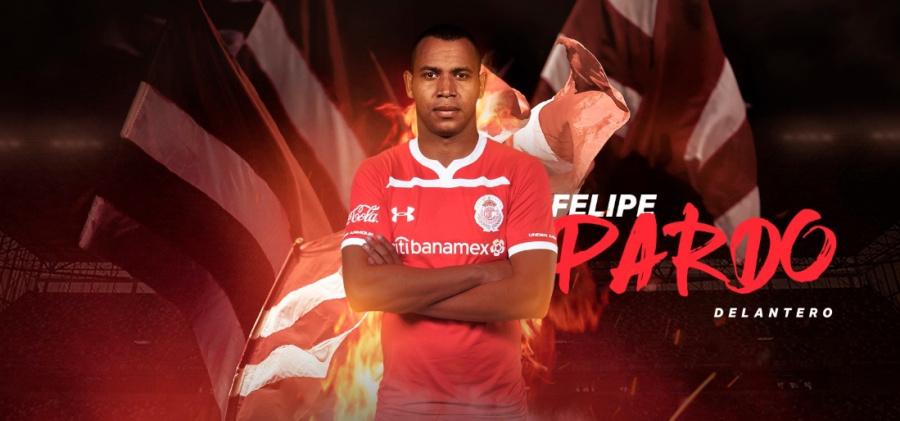 Felipe Pardo, nuevo refuerzo del Toluca