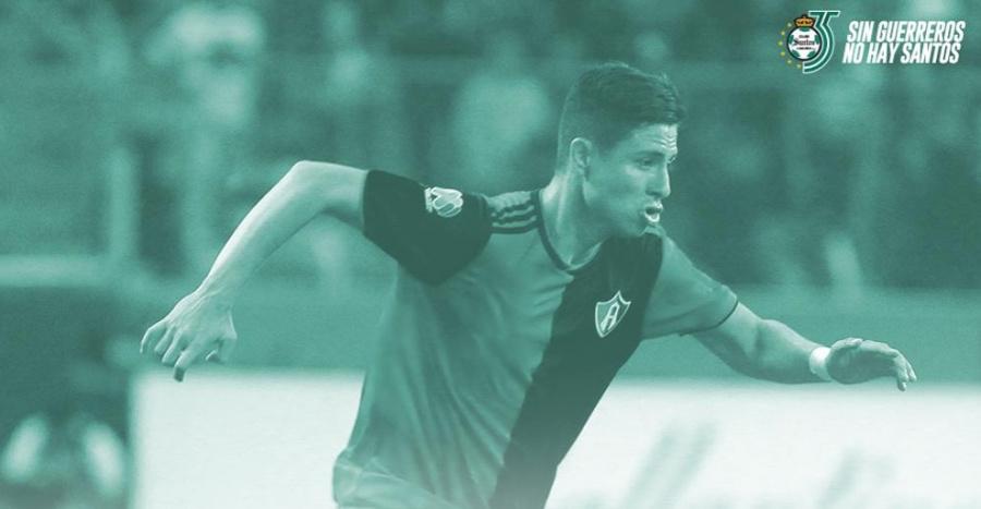 Santos anuncia el fichaje de Bryan Garnica