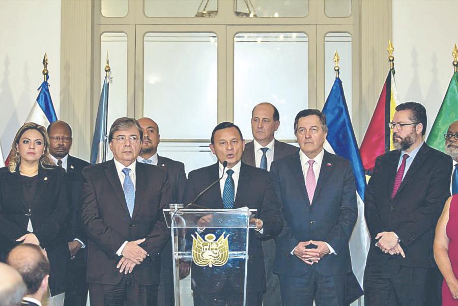 Grupo Lima impide a Maduro entrar a sus naciones