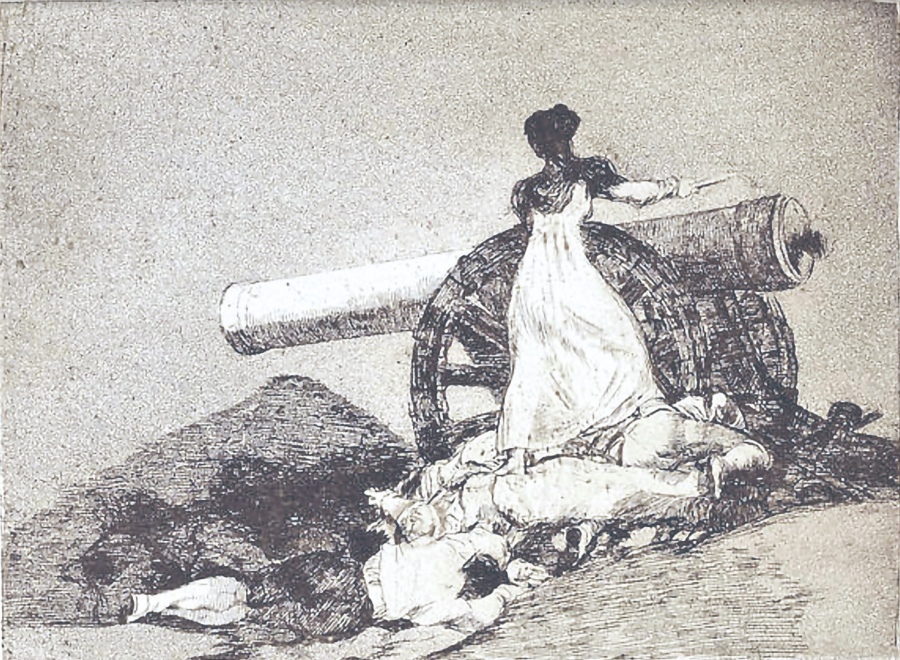 Grabados de Goya se quedan sin comprador