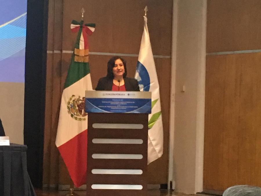 Secretario General de la OCDE fue recibido por la Titular de la Función Pública