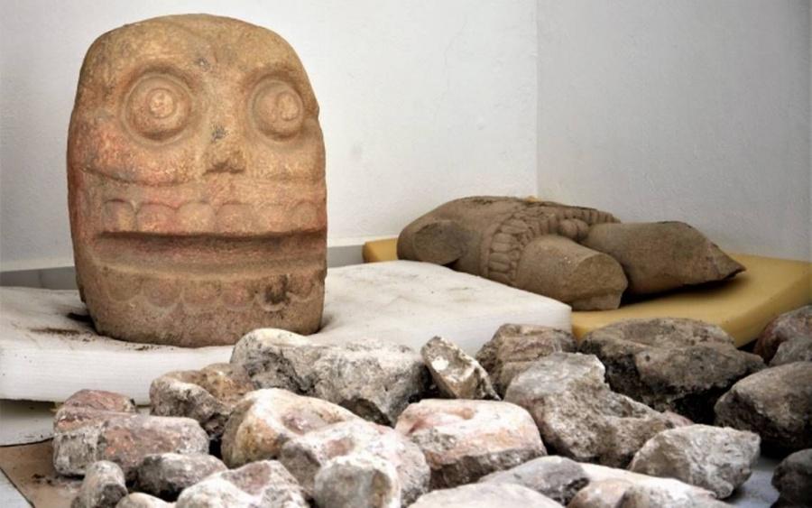 Descubren el primer templo dedicado a Xipe Tótec