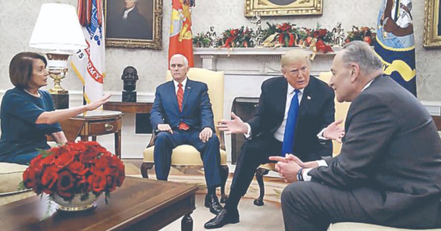 Pelosi y Schumer lideran para reabrir el gobierno