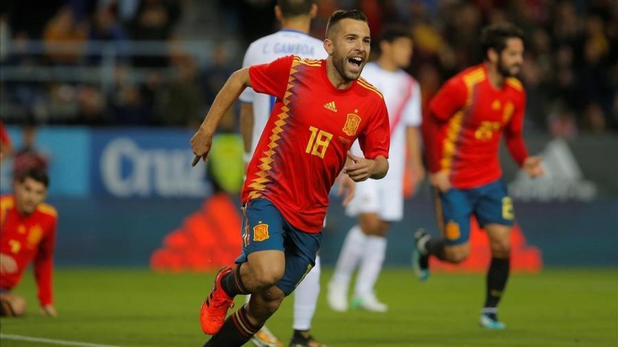 ¡Es Oficial!: Jordi Alba regresa a la Selección Española