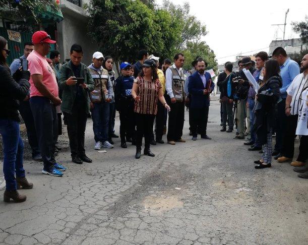 Brugada denuncia presencia de grietas en Iztapalapa tras Sismo 19S