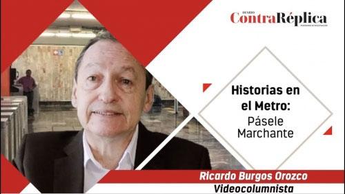 HISTORIAS EN EL METRO PASELE MARCHANTE
