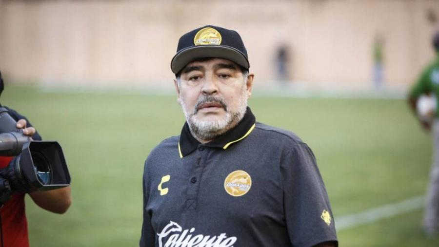 Bioserie de Maradona inició grabaciones