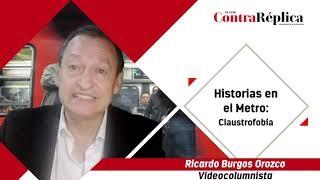 HISTORIAS EN EL METRO CLAUSTROFOBIA