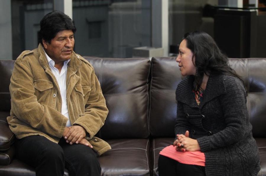 Evo Morales llega a México para toma protesta de AMLO