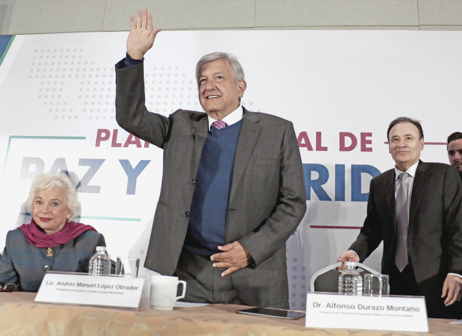 Plan de paz, enfocado en valores, dice AMLO