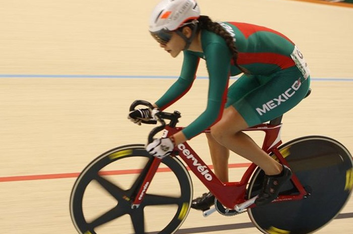 Yareli Salazar logra oro en Copa Federación de Ciclismo