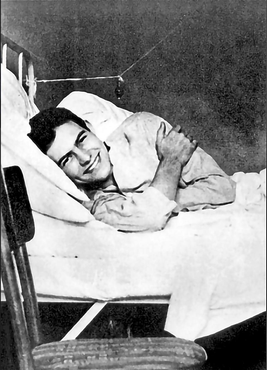 Identifican al soldado que salvó a Hemingway de la muerte
