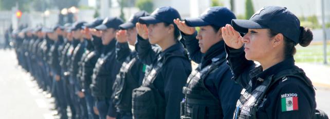 Más de 2 mil policías vigilarán investidura de AMLO