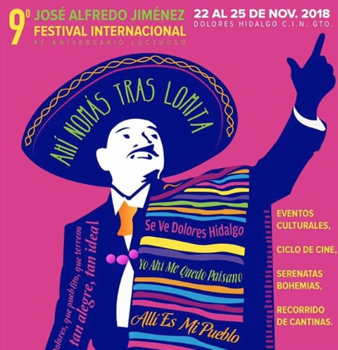 Dolores Hidalgo recibirá a más 30 mil personas por Festival Internacional José Alfredo Jiménez