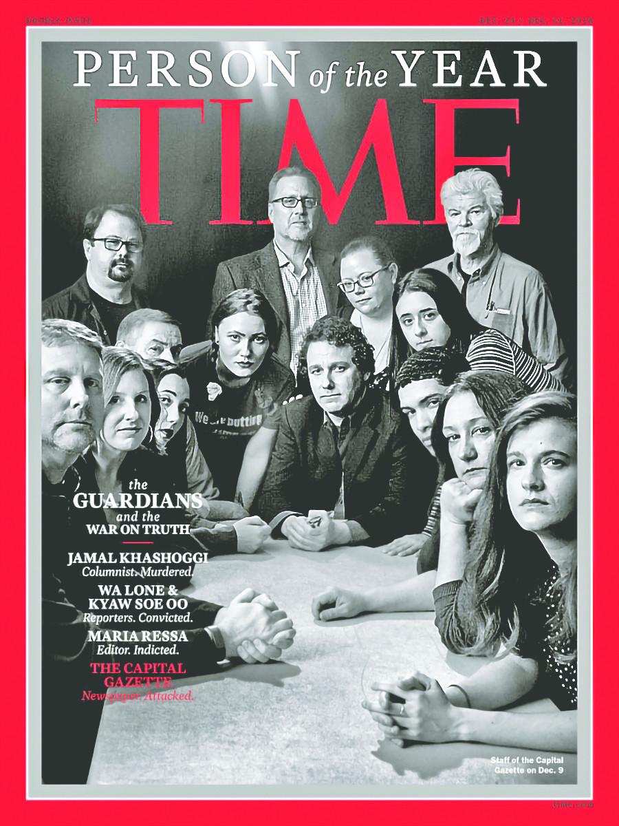 Time celebra al periodismo crítico al poder