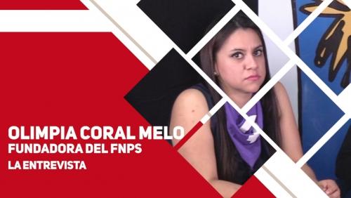 La entrevista con Olimpia Coral Melo
