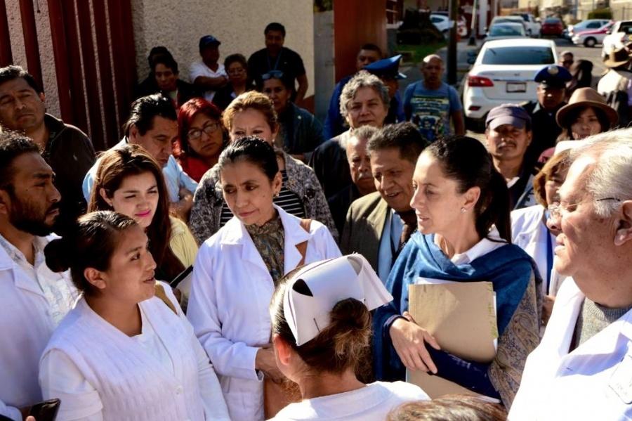Sheinbaum anuncia ampliación de Hospital Materno Infantil en Tlalpan