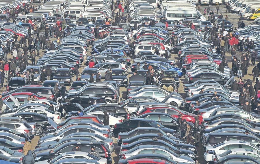 Inegi registra caída en ventas de autos de 7.1%