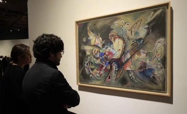 """""""Kandinsky. Pequeños mundos"""", atrapó a más de 214 mil visitantes en el Palacio Bellas Artes"""